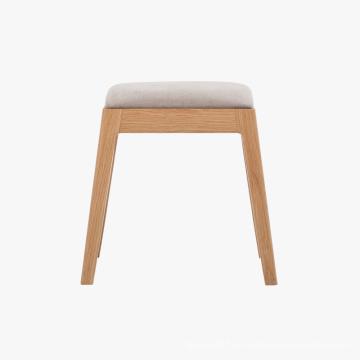 Taburete de madera maciza Muebles de madera