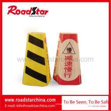 Colares de alta freqüência de cone tráfego resistente ao frio