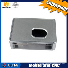 Cobertura de liga de alumínio CNC de preço de tecido