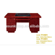 Office furniture 100% MDF small office desk with paper painting