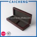 деревянная коробка подарка упаковывая для украшения и ювелирные изделия
