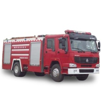 8 Ton Water Tanker Fire Fighter Transportation Vehicle