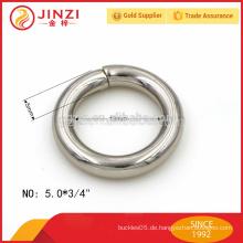 Kleine Größe Eisen Draht Ring Metall Zubehör für Geldbörse