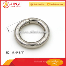 small size iron wire ring metal accessories for purse