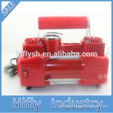 HF-5065 DC12V Car Air Compressor Plastic Air Compressor Car air pump power Parallel bars LIGHT (CE Certificate)