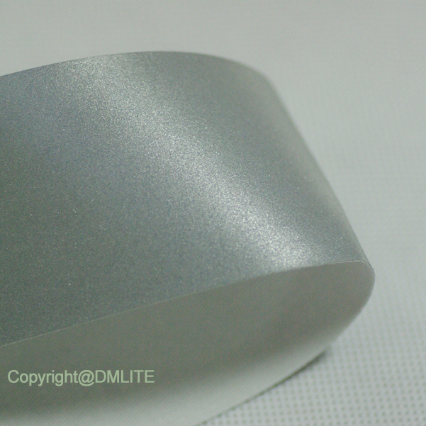 DM Silver Polyester Reflective Fabric