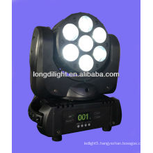 7*10w 4IN1 Wash Beam Moving Head Led 2 years warranty