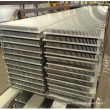 Perfil de alumínio industrial de alta precisão