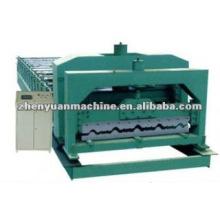Máquina de formação de rolo de telhado de metal com efeito de azulejo