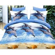 Комплект постельного белья из китайского полиэстера с 3D-дизайном Dolphin