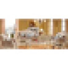 Sofa de salon pour l'ensemble de meubles à la maison en bois (992R)