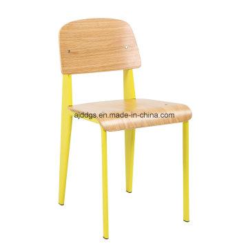 Железный стул деревянный стул отдыха стул