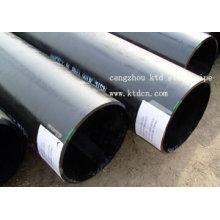 JIS G3454 tubo de aço de parede fina soldada