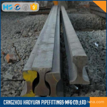 Cheapest Factory for Train Rail QU80 crane chaege steel rail U71Mn 12mtr supply to Guadeloupe Suppliers