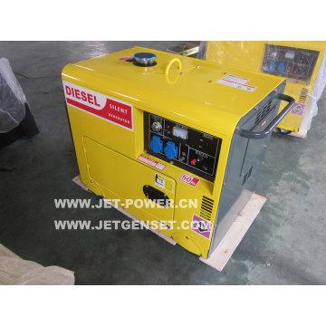 Generador diesel portátil del soldador silencioso 5kw / 5kVA