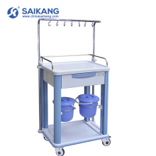 SKR017-ITT Cheap Hospital Workstation Clinical Treatment Trolley