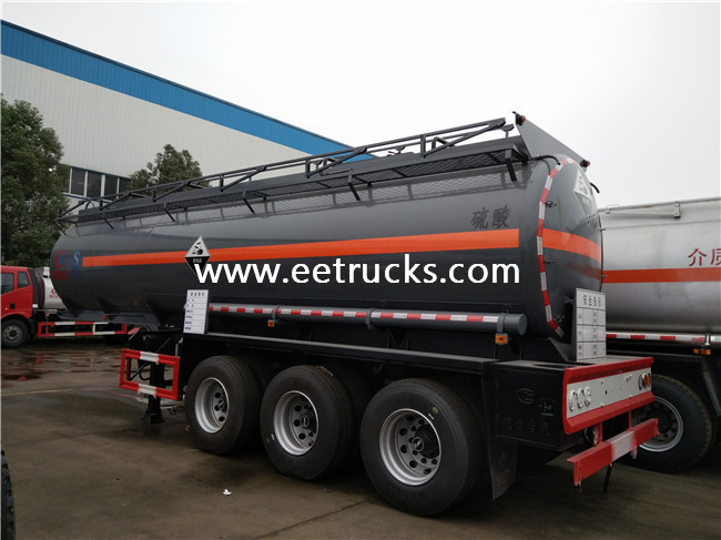 Sulfuric Acid Transportion Trailers
