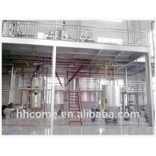 Equipamento patenteado de biodiesel não ácido, sem resíduos de ácido e resíduos de sódio