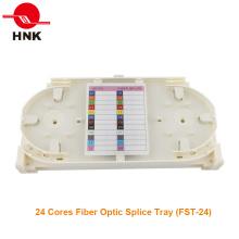 Bandeja de empalme de fibra óptica de 24 hilos (FST-24)