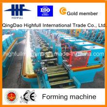 Estricto control de calidad de tubería de agua rodillo que forma la máquina