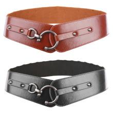Grace Karin Women Ladies Girls Retro Metal Hook Buckle Elastic Waist Belt Waistband CL010484