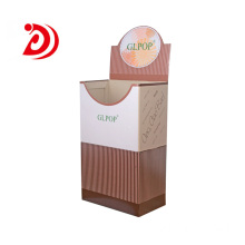 Hot sale for Portrait Display Stands Ladder floor cardboard display stand export to Spain Manufacturers
