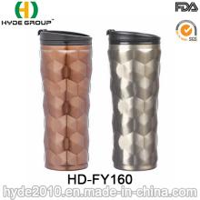 Tasse automatique d'acier inoxydable de double mur pour le café