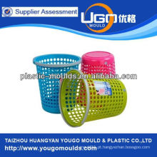 2013 de plástico rosa Lixo de lixo de lixo pode moldar em taizhou, Zhejiang