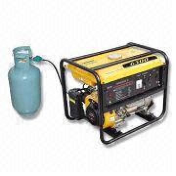 Generador clasificado de la gasolina del LPG de la potencia 5kw (WH6500E-X / LPG)