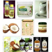 10TPD ao óleo verde do coco 100TPD que faz a máquina / óleo do coco que faz o equipamento para a venda
