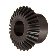 Steel Mini Straight Bevel Gear untuk Oil Fields