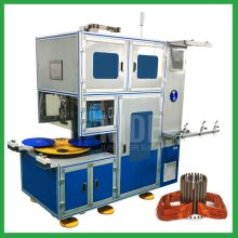 Automatic compressor motors stator coil winding machine