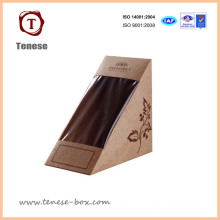 Customized Food Packing Box with Wondow for Sandwich, Cake