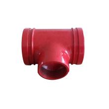 Female Threaded Tee T Shape Pipe Fittings/ANSI b1.20.1 22.5/Pipe Fitting Junction Npt Threaded Pipe Fittings Conduit tee