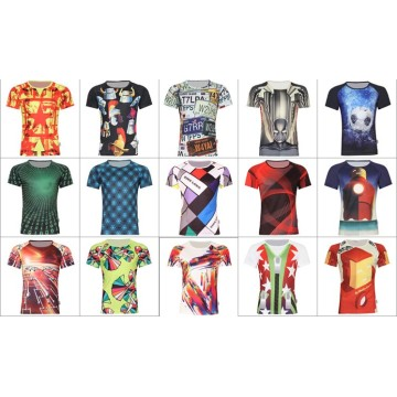 2016 neue Art voll sublimierte T-Shirts