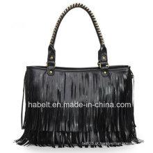 Fmale's Tassel sacos de ombro para Handmade