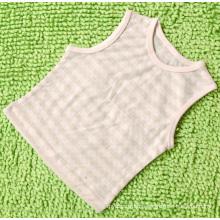 Confortável 100% algodão orgânico bebê colete