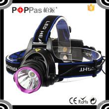 Poppas T90c 400 Lumen Xml High Power Zoom LED Headlamp Flashlight