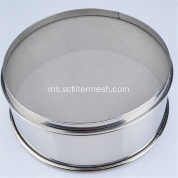 Stainless Steel Filter Mesh Garden Sieve Test Sieve