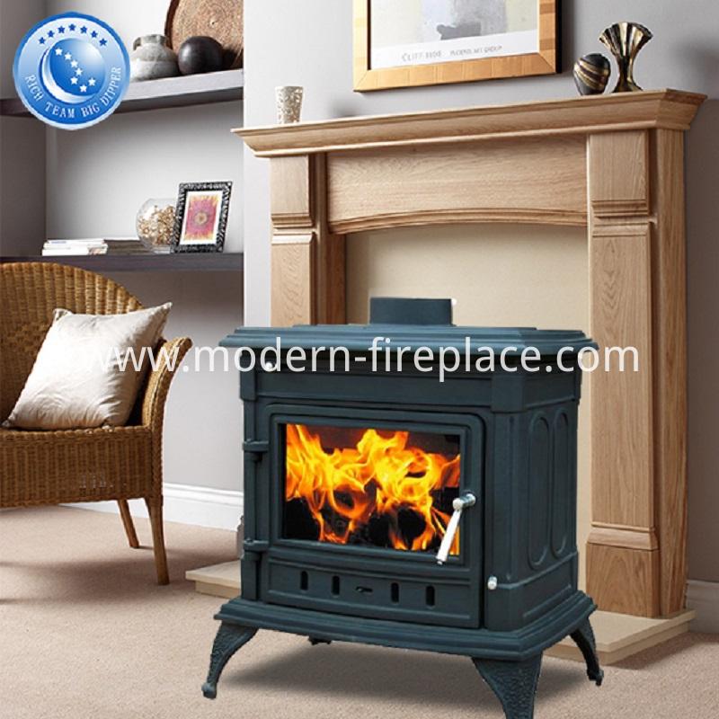 14KW Cast Iron  Modern Wood Burners