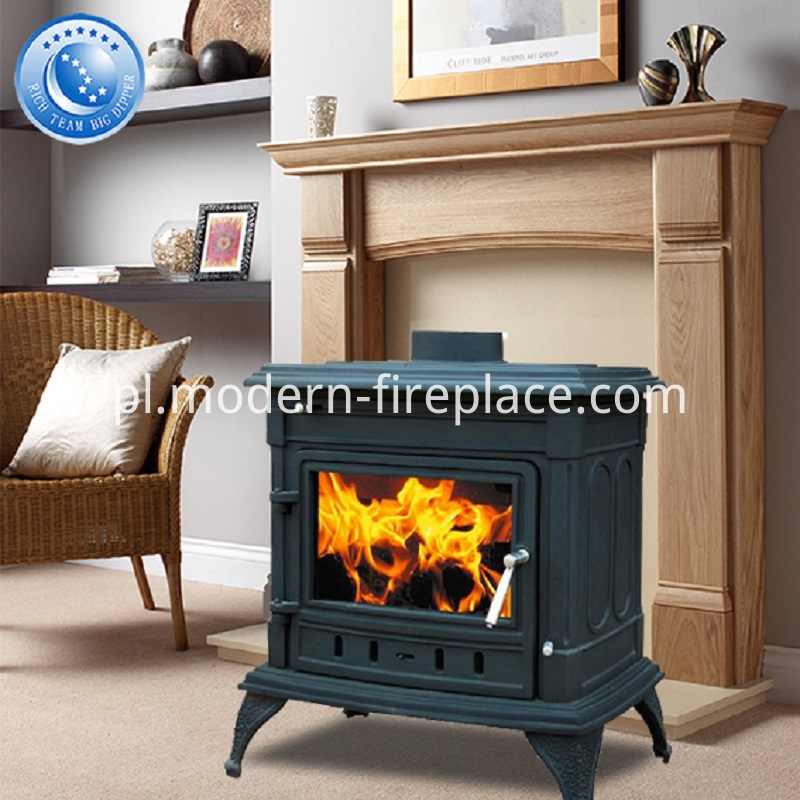 14KW Cast Iron Modern Wood Burners