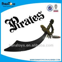 Interessante plástico crianças pirata espadas