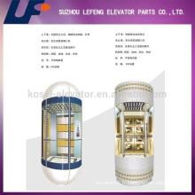 Capsule de verre panoramique Passager Ascenseur Ascenseur