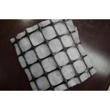 Kombinerad PP Biaxial Geogrid Med Geotextil