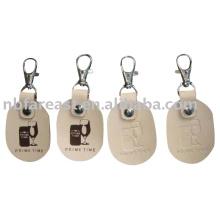 Leder Schlüsselanhänger, PU Schlüsselanhänger