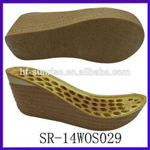new ldy pu shoe sole ladies sandals pu sole
