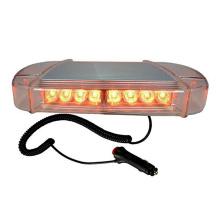 12V  24V 13 Inch Amber yellow Flashing LED Warning Mini Lightbar With Bracket Strong Magnet