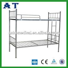 Todas las camas domitorias de acero inoxidable