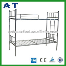 High quality steel bunk bed stainless steel