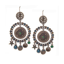 Vogue Boho Long Alloy Earring, Bohemian Flavor Earring jewelry